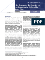 Valdes - Evaluacion del desempeno del docente.pdf