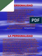 7.2 La Personalidad