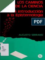 Serrano Loscaminosdelaciencia