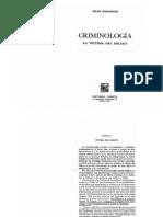 Marchiori - Criminología, La Víctima Del Delit