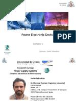Diseño de circuitos de potencia - PED Introduction and Sem
