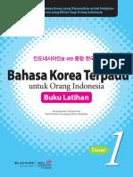 Bahasa Korea Terpadu Untuk Orang Indonesia Jilid 1 Latihan.pdf