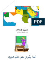 Arabic 101A Iman CSULB Day 1-Fall 2017