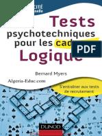 Bernard Myers-Tests psychotechniques pour les cadres _ Logique.pdf