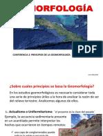 00 Conferencia 2 Principios de La Geomorfología