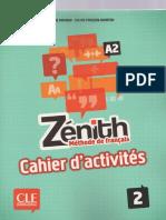 Cahier Zenith 2