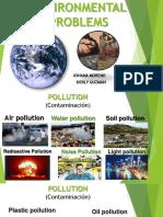 Environmental Problems - Vocabulary