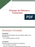 Estudo Das Palavras e Expressoes