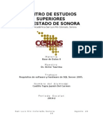 Requisitos de Software y Hardware de SQL Server 2005.