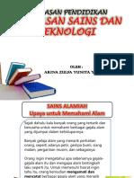 Ppt Landasan Sains Dan Teknologi..
