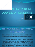 6.- GENERALIDADES DE LA AUDIENCIA PRELIMINAR.pptx