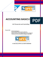 Accounting Basics in Sap