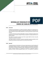 Suelos Reforzados Geomallas Uniaxiales HDPE