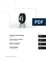 01914 Vitalmaxx LED-Fitness-Armband, Blau