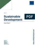 Sustainable Development Case Study Report