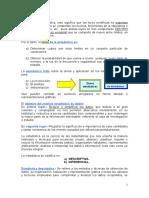1.1 Estadística Notas Grales, InTRODUCCIÓN.