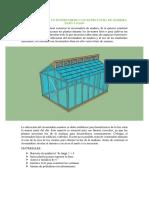 Como Construir Un Invernadero Con Estructura de Madera