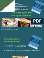 Derecho Sucesorio -  Gonzalez - Posadas -