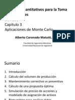 MA 100 Capitulo 3 Aplicaciones de Monte Carlo