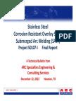 316L CRO - SAW Study - Final Report.pdf