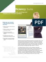 Meeting Efficiency Suite GRANICUS