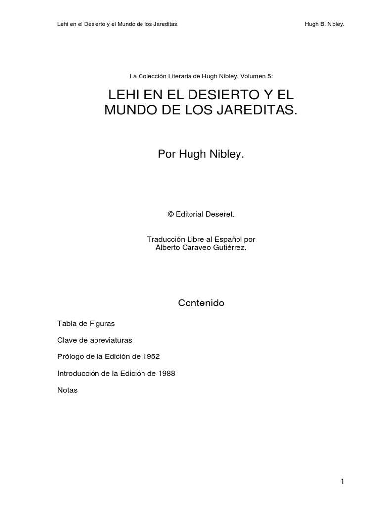 Hugh Nibley - Lehi en el desierto.pdf