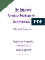 Clase 05 - Estructuras Estáticamente Indeterminadas.pdf