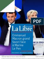 La Libre Belgique Du Lundi 24 Avril 2017