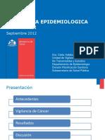 Registro de Cancer Chile 2012