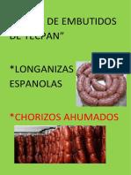 Venta de Embutidos de Tecpán