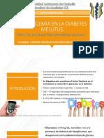 Hipoglucemia en La Diabetes mellitus - Cinthia Angelica Rodriguez Rodriguez