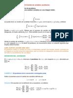 Secc 14.8, Cambio de Variables, Jacobianos