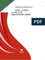 eBook en PDF Abduccion Prueba y Genero en La Argumentacion Judicial