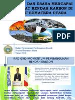 (2) Kebijakan Rendah Karbon Di Sumatera Utara