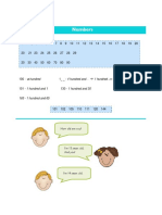 Numbers and Phonetics