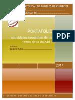 Formato de Portafolio II Unidad 2017 DSI II 1