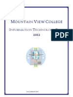2010 - 02 - ITPlan Mountain View College