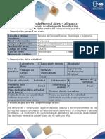 Guía Para El Desarrollo Del Componente Práctico - Práctica 1 - Fundamentos de Electricidad