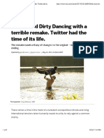 ABC Ruined Dirty Dancing With a Terrible Remake. Twitter Had the Time of Its Life. - Vox