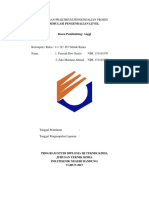 Laporan Praktikum Level Pengendalian Proses
