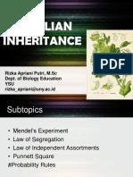 3 Mendelian Inheritance