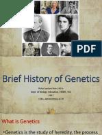 2-History of Genetics