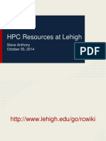 HPC Training-Slides Oct. 2014