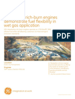 Waukesha Rich Burn Engines Demonstrate Fuel Fl Exibility in Wet Gas Application