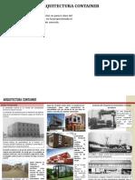 Arquitectura Container