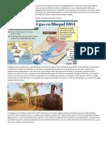 Desastre quimico en Bhopal India