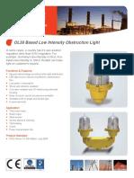 OL50 Based Low Intensity Obstruction Light