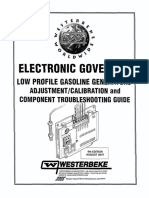 Electronic Governor Troubleshooting Guide - Low Profile Gasoline Gensets