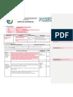Ficha de Sesión Practica Pre Profesional III Aleja Paulino