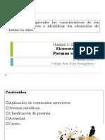 Clase 5 y 6 Poemas Estróficos.